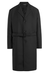 Jil Sander Tailored Coat Black