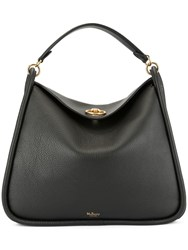 Mulberry Leighton Small Classic Grain Bag Black