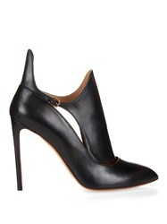 Francesco Russo Rubens Leather Ankle Boots Black