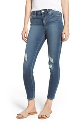 Articles Of Society Heather High Rise Ripped Crop Skinny Jeans Columbia
