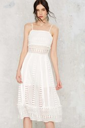 Nasty Gal Spill The Tea Lace Dress
