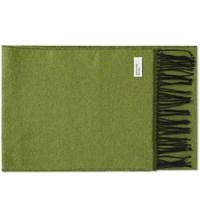 Universal Works Double Sided Scarf Green