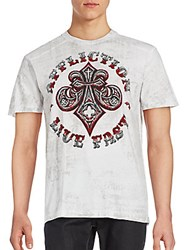 Affliction Royal Connect Short Sleeve T Shirt White