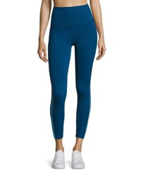 Beyond Yoga Ommmbre Mesh High Waist Legging Blue
