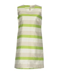 Chlotilde Short Dresses Light Green