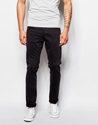 Franklin And Marshall Skinny Fit Chinos Black