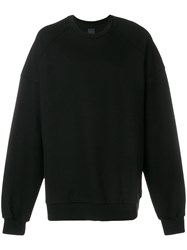 Juun.J Loose Fit Sweatshirt Black