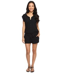 Roxy Always On My Mind Romper Anthracite Women's Jumpsuit And Rompers One Piece Pewter