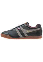 Gola Harrier 1905 Trainers Black Grey