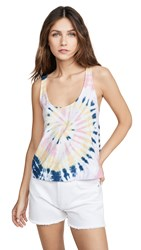Nation Ltd. Ltd Olivia Tie Dye Tank 90S Spiral