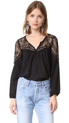 Bb Dakota Ormond Lace Top Black