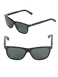Ermenegildo Zegna 56Mm Square Sunglasses Black