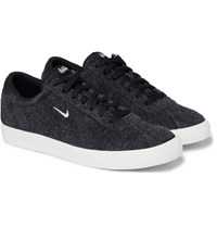 Nike Match Classic Brushed Suede Sneakers Black
