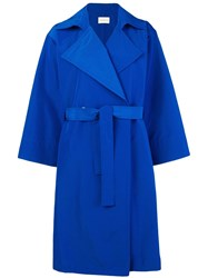 Simon Miller Belted Trench Coat Blue