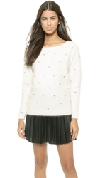 Club Monaco Witney Angora Sweater White
