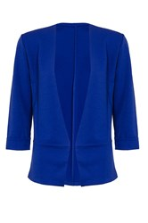 Quiz Royal Blue 3 4 Sleeve Jacket
