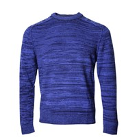 Lords Of Harlech Crosby Crewneck Sweater In Blue