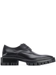 Balenciaga Treaded Derby Shoes Black