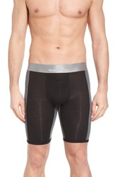 Tommy John Second Skin Boxer Briefs Black Turbulence