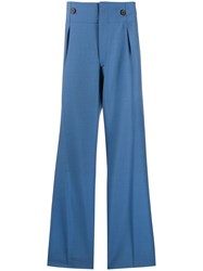 Lanvin Button Detail Tailored Trousers 60