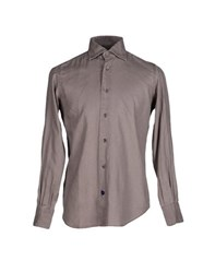 Mazzarelli Shirts Shirts Men Khaki