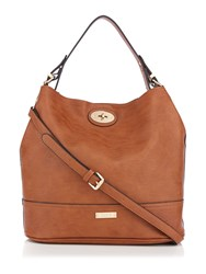 Juno Tan Bucket Bag Tan