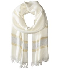 Bcbgeneration Luxe Livin Scarf Optic White Scarves