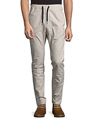 Zanerobe Salerno Cotton Blend Tapered Pants Taupe
