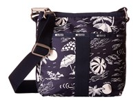 Le Sport Sac Essential Crossbody Hawaiian Getaway Cross Body Handbags Black