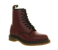 Dr. Martens 8 Eyelet Lace Up Boot Red