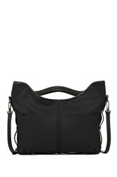 L.A.M.B. Haines Leather Handbag Black