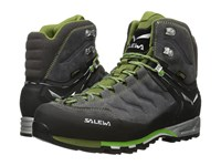 Salewa Mountain Trainer Mid Gtx Pewter Emerald Men's Shoes
