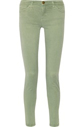 Current Elliott The Ankle Mid Rise Skinny Jeans