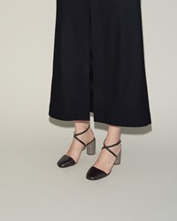 Acne Studios Adeline Pump Black And Light Grey