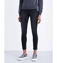 Calvin Klein Body 2.0 Skinny High Rise Jeans Black Lake