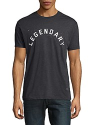Kinetix Legendary Crewneck Cotton Blend Graphic Tee Vintage Black