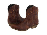 Dingo Adobe Rose Light Brown Distresssed Cowboy Boots
