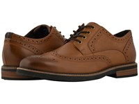Nunn Bush Oakdale Wingtip Oxford With Kore Walking Comfort Technology Tan Ch Lace Up Wing Tip Shoes Brown