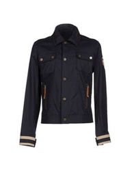 Frankie Morello Jackets Dark Blue