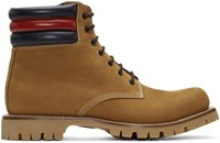 Gucci Tan Suede Boots