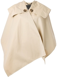 Burberry Prorsum Trench Cape Nude And Neutrals