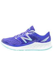 New Balance Fresh Foam 1080 Neutral Running Shoes Blue White Purple