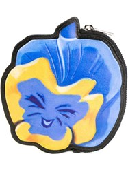 Marc By Marc Jacobs Disney X Marc By Marc Jacobs 'Garden Flower' Coin Pouch Blue