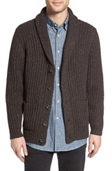 Pendleton Men's Lambswool Blend Shawl Collar Cardigan