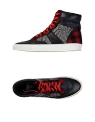 Trussardi High Tops And Trainers Black