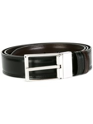 Bally Square Buckle Belt Black