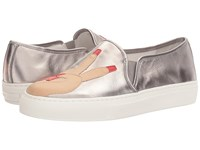 Katy Perry The Peace Pewter Soft Metallic Women's Shoes