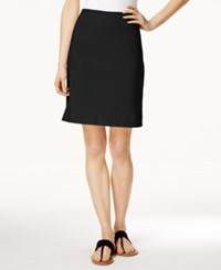 Charter Club Pull On Skort Only At Macy's Deep Black