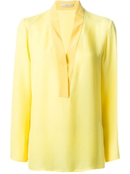 Etro Loose Fit Blouse Yellow And Orange