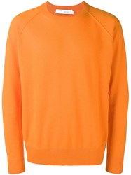 Iro Aaron Cashmere Sweater Yellow And Orange